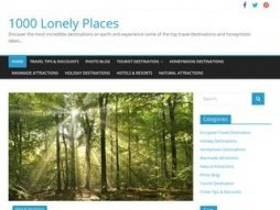 Snapshot domain 1000lonelyplaces.com