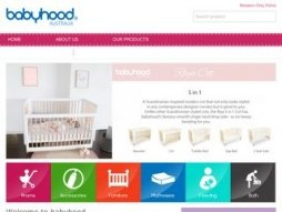 Snapshot of site babyhood.com.au