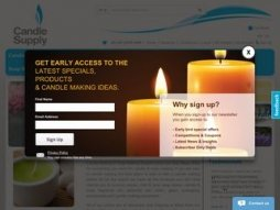 Cost of site candlesupply.com.au
