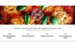 Snapshot of site comemelapizza.com