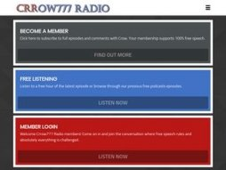 Cost of site crrow777radio.com