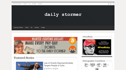 Cost of site dailystormer.name