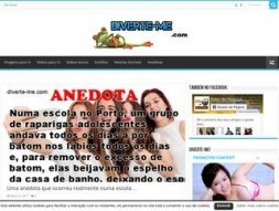 Snapshot - website diverte-me.com