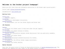 SEO dockerproject.org