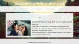 SEO dreamhousewebsolutions.net