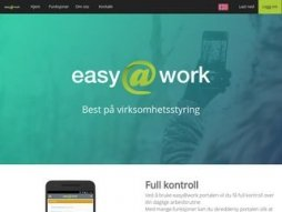 Snapshot domain easyatwork.no