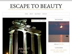 Site escapetobeauty.com