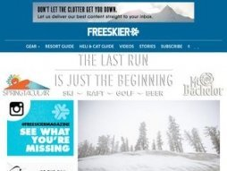 Cost of site freeskier.com