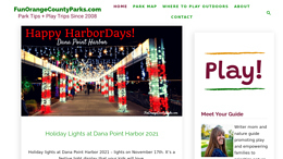 Snapshot - website funorangecountyparks.com