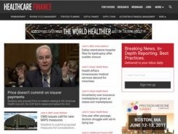 Snapshot - website healthcarefinancenews.com