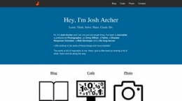 Site josharcher.uk