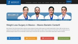 Snapshot - website mexicobariatriccenter.com