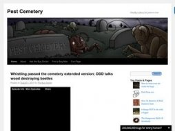 Snapshot - website pestcemetery.com