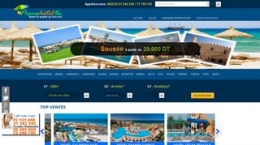 Snapshot - website promohotel.tn