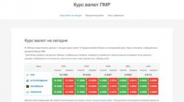 Snapshot - website rubpmr.ru