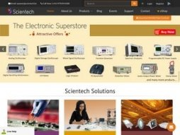Snapshot site scientechworld.com