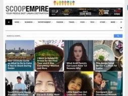 Snapshot - website scoopempire.com