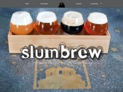 Snapshot of site slumbrew.com