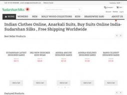 Site sudarshansilk.com