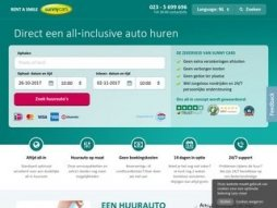 Snapshot of site sunnycars.nl