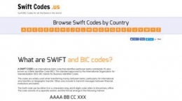 Snapshot site swiftcodes.us