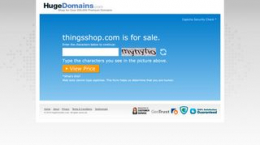 Snapshot site thingsshop.com