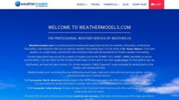 Snapshot of site weathermodels.com
