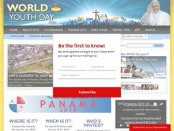 Snapshot - website worldyouthday.com